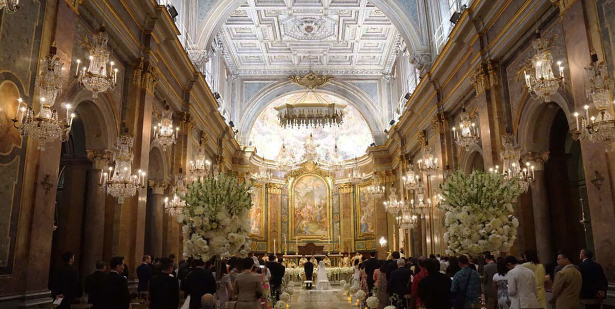 wedding-in-the-Rome-cathedral-SS-Giovanni-e-Paolo