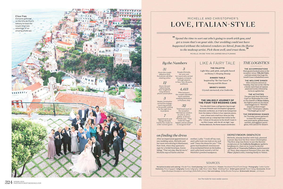 best wedding planner Positano
