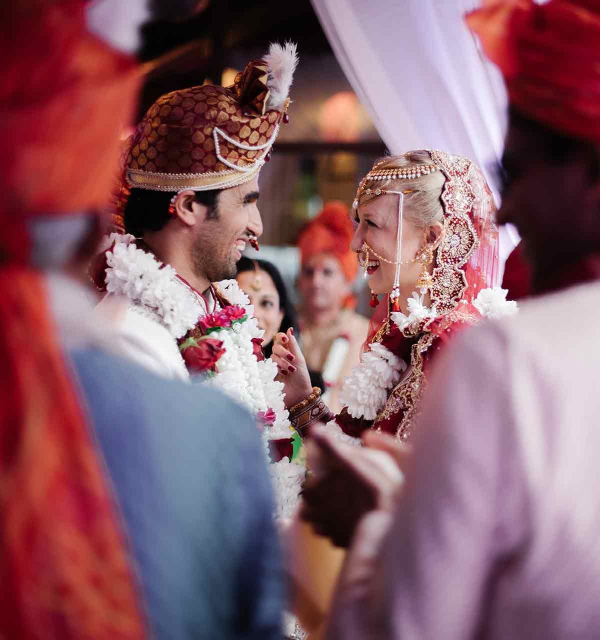 Indian Hindu ceremony Tuscany luxury wedding planner