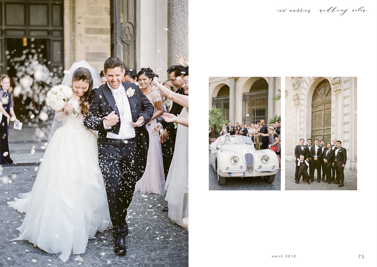 luxury Rome wedding Russian wedding magazine 4